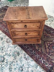 Solid Mexican pine cabinet