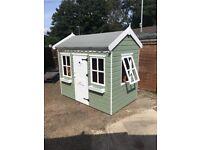 Single storey kids playhouse