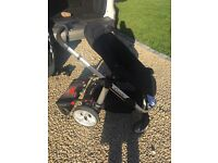 iCandy Apple 2 Pear Travel System, Maxi Cosy Car Seat & Lascal Maxi Buggy Board