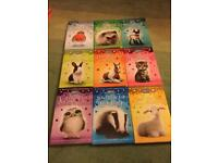 RSPCA 9 book collection, excellent condition