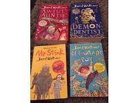 4 x David Walliams Books (2 are hard backed)