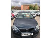 Volkswagen polo 1.4 petrol 5 doors hatchback 5 seater family car 2006 06 plate