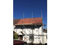 ROOFING & SCAFFOLDING sevices