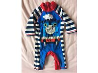 Thomas the Tank all in one swim suit 18-24 months