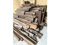Hard Wood Cut Offs - Oak, Mahogany
