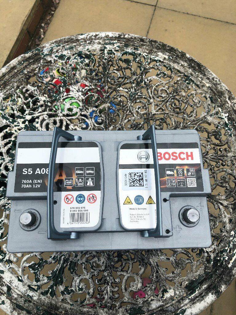 Bosch Car Battery In Shropshire Gumtree
