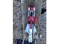 AL-KO stabilised hitch + hand brake