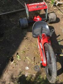 Turbo twist 360 go cart