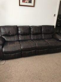 Leatheraire suite(brown)
