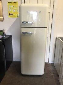 Smeg fridge freezer FAB30 cream 3 months warranty free local delivery!!!!!!!!!!!