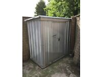 metal shed roughly 8x4 ft