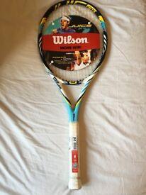 Wilson Juice Pro 96 Tennis Racket BLX Basalt Graphite Head RRP £159 324g L2 BRAND NEW Tennis Racquet