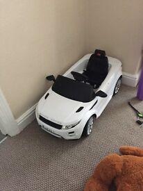 Kids electric Range Rover