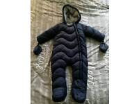 Baby winter suit 9-12 months
