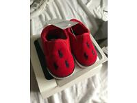 Baby Ralph Lauren shoes size 1 never worn with tag and in box