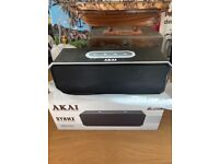 Bluetooth speaker Akai Bluetooth speaker. Original box, cables and packaging.