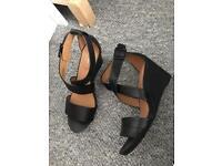 Clark's Women's Acina Newport Wedge Heels Sandals UK Size 7