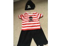 Children's pirate dressing up outfit
