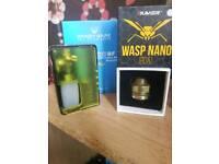 Vandy vape pulse BF and wasp Nano