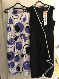 M&S DRESSES, unworn, size 10