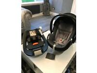 CYBEX ISOFIX BABY CAR SEAT AND ISOFIX BASE SYSTEM
