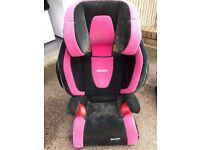 Recaro Monza Nova ISOFIX Car Seat PINK used
