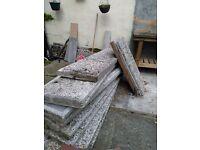 Free concrete panels