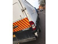Mercedes sprinter 54 taxed and moted long body needs attention but engine and box good cheap van