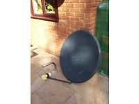 satellite dish 90cm with LNB