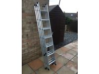 Triple Compact Extension Ladder
