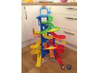 Free! - Childs toy car spiral track with 2 cars