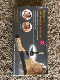 BaByliss 200 total freedom curls tongs
