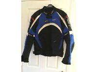 RST Blue biker jacket