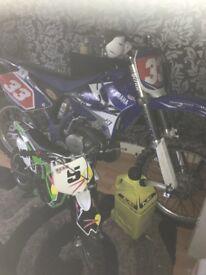 Yz250 fresh just spent 200 beast off a bike