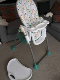 High chair ( Mothercare ) great condition