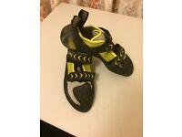 Scarpa Vapour V Climbing Shoes 2016 Size 10. £45.00