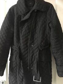 NEXT women's coat with belt size 14