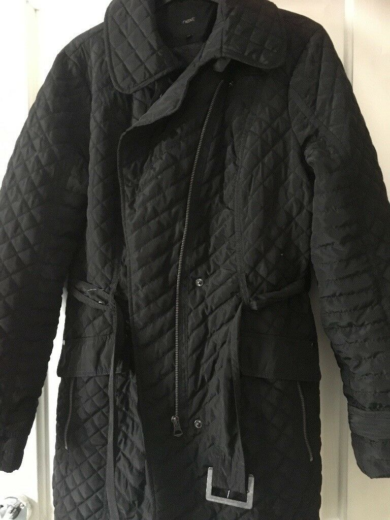 NEXT women's coat with belt size 14