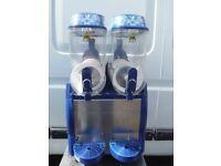 Electro Freeze Twin 12 litre fast freeze slush machine with digital display. Slushie puppy, granita.