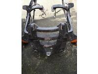 Givi motorcycle rack