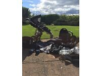Quinny Speedy Pram and Maxi Cosi Car seat and Isofix Base