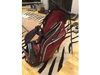 Red ping Hoofer golf bag