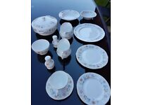 81 Piece Duchess Evelyn Bone China excellent condition