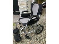 Folding wheelchair, £150 new, Bargain at just £65