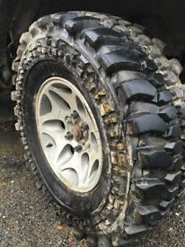 Off road wheels