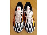 Adidas football boots - as new size 9.5 UK