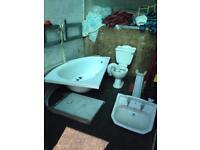 Complete bathroom suite £50
