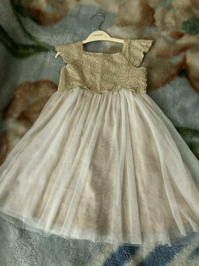 ff929bfe Gold Estella Sparkle Dress From Monsoon   in Chingford, London   Gumtree