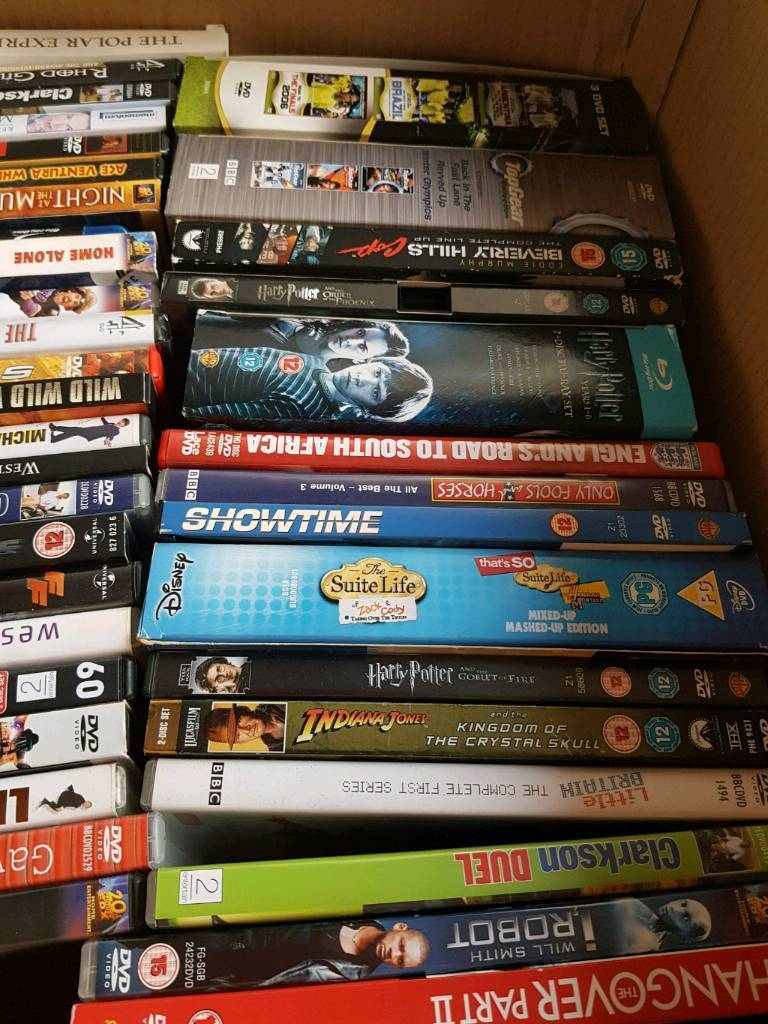 Dvds 46 and 4 box sets and more
