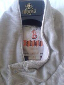 Barracuta Mens Harrington Jacket - Corduroy - Brand New - Size 46 - Sand Colour